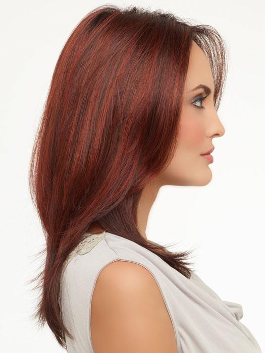 Envy Roxie : Right Profile | Color DARK RED