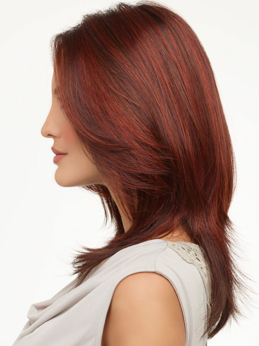 Envy Roxie : Left Profile | Color DARK RED