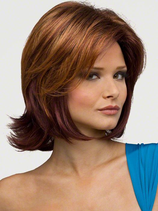 Envy Talor Wig : Lace Front | Color : CINNAMON RAISIN
