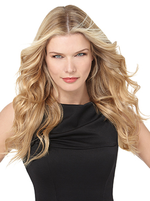 18 inch 100% REMY Human Hair 10PC Extension Kit by hairdo: Color R25