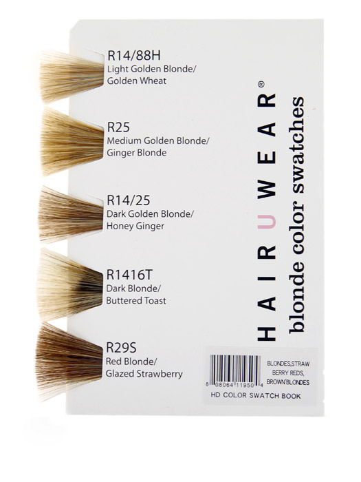 Hairdo Synthetic Color Book - Blondes