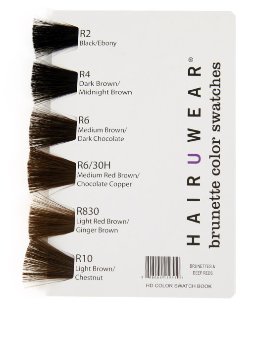 Hairdo Synthetic Color Book - Brunettes