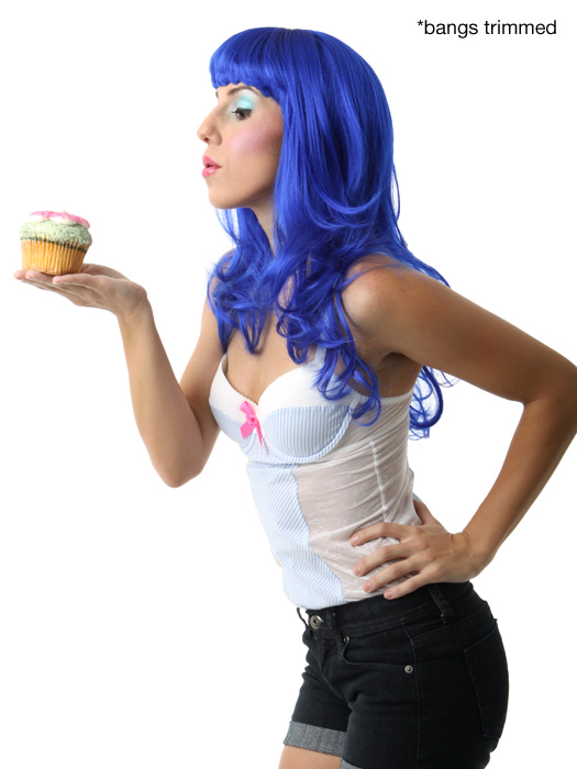 Wigs.com Exclusive Photo | Color: Electric Blue
