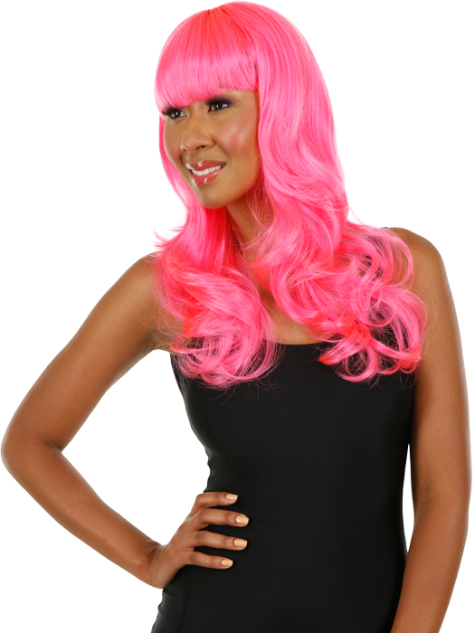 Wigs.com Exclusive Photo | Color: Hot Pink