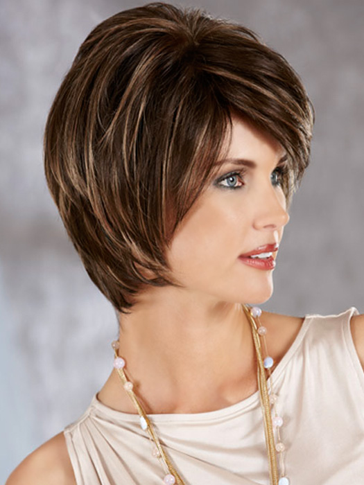 Madison Wig by Henry Margu : Profile View | Color 27AH