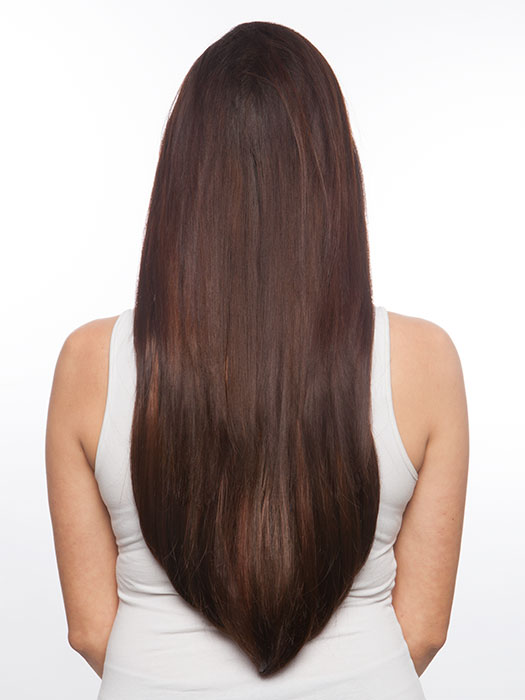 Incredible length with rounded ends. Color 114/116