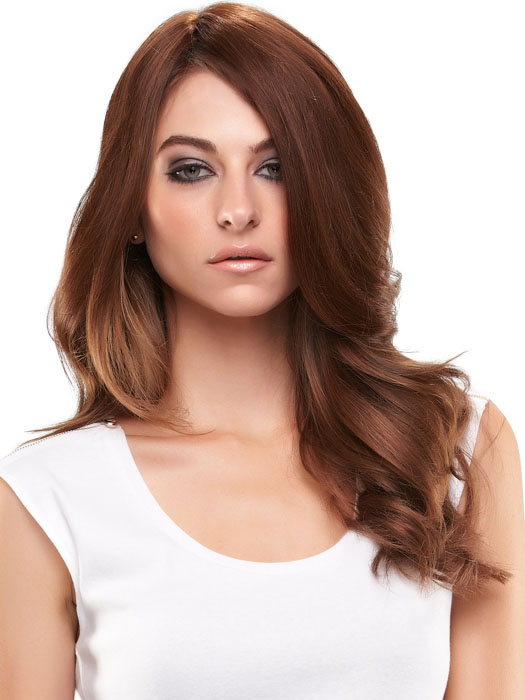 easiPart HD by easihair: Color 8/30 Brown (Med Brown & Golden Red Blend)