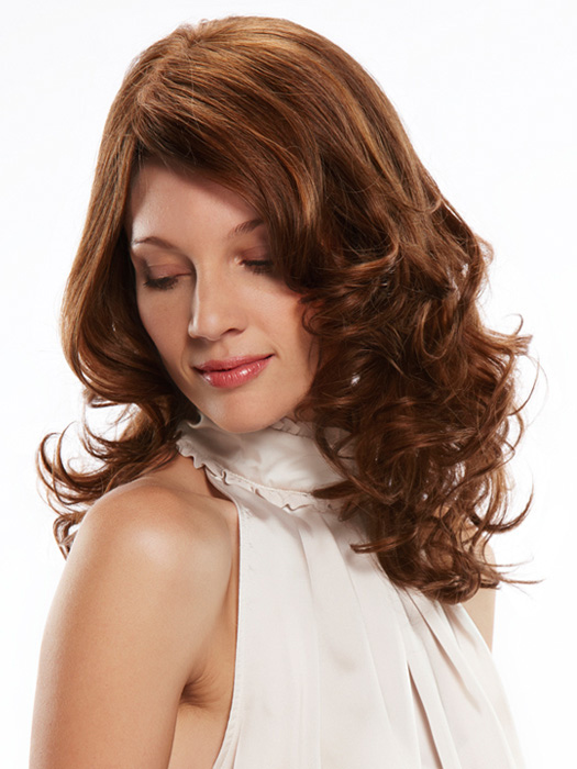 Color: 8/30, STYLE SHOWN HERE CURLED WITH HOT TOOL