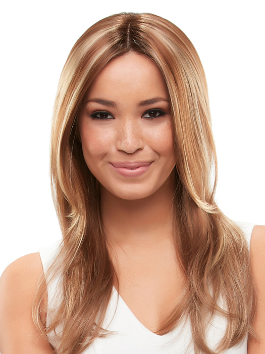 Styled with a center part  | Color: FS26/31S6- Salted Caramel