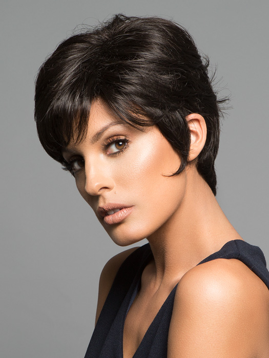 Fringe provides coverage and can be trimmed by your stylist | Color: 4
