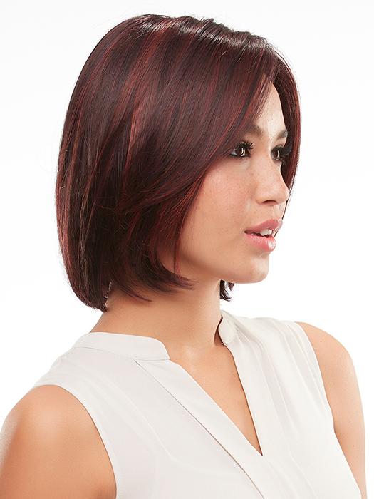 Dark burgundy red with cherry red highlights | FS2v/31v - Chocolate Cherry
