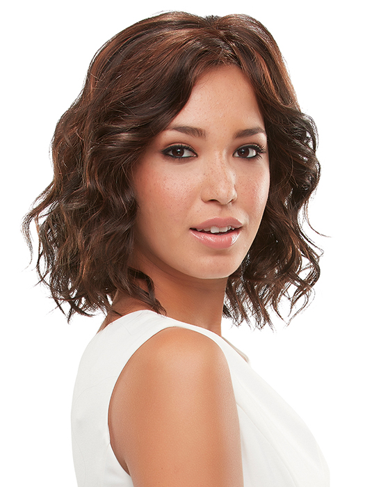 Wavy, mid-length bob | Color: FS2v/31v - Chocolate Cherry