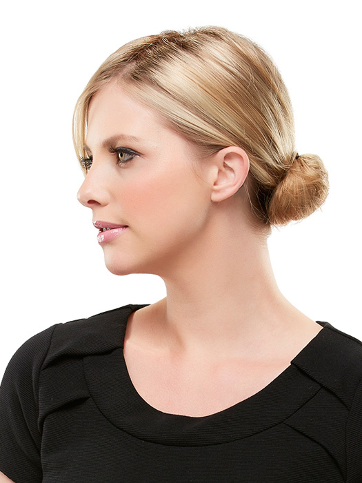 Once in, you can put your hair in a pony or bun | Endless styling options