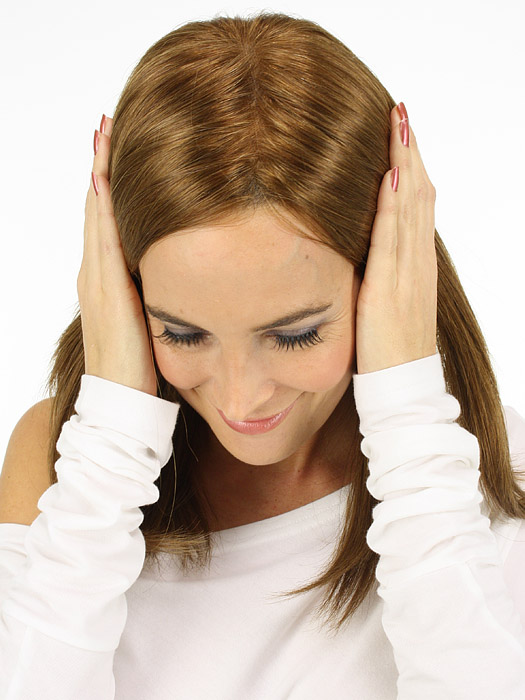 The hand-tied monofilament part gives you a natural scalp appearance