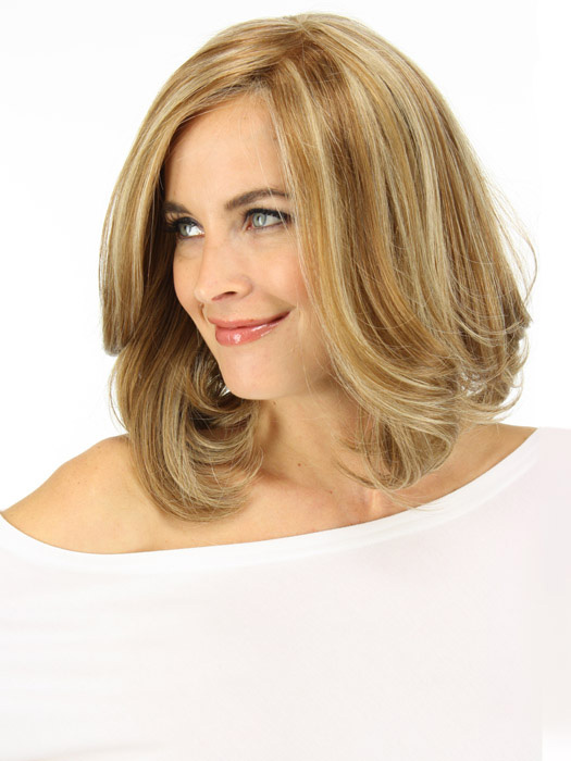 Blow dry it using a round brush for a fuller look | Color:FS2631