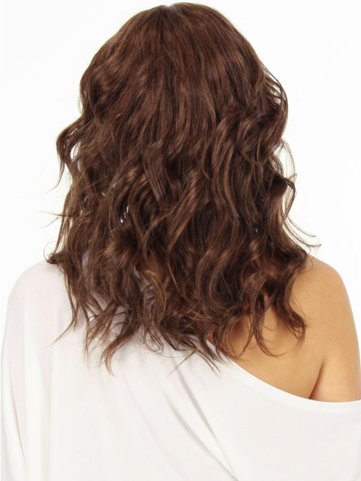 Curls look great with this layered style | Color: 6/33