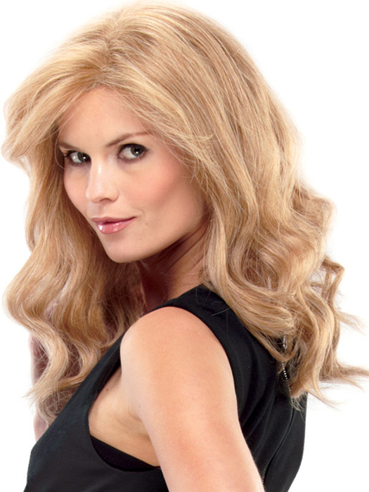 Color 14/26 Smart Lace front lets you style the hair away from the face