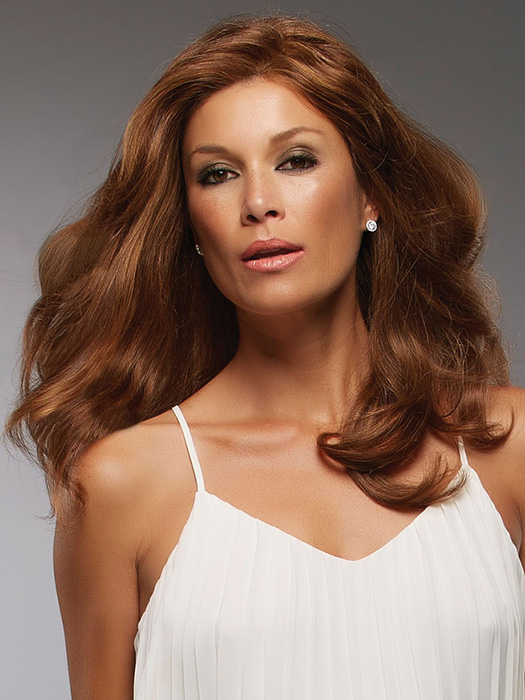 """Use a 2"""" curling iron to create large, loose waves 