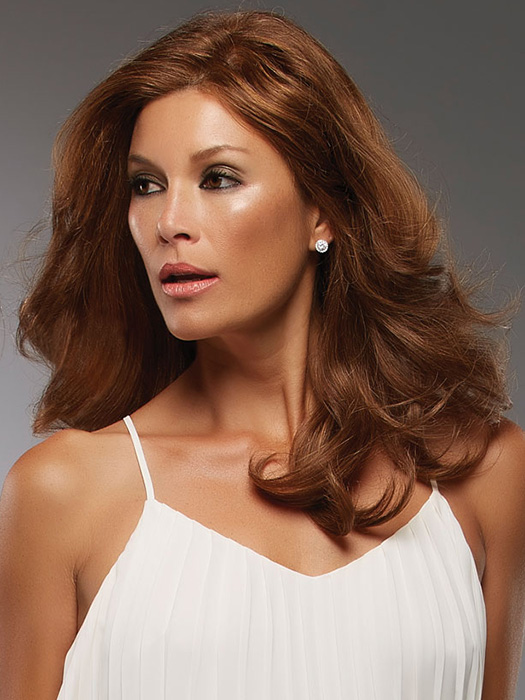 We recommend washing and styling 100% Human Hair before wearing | Color: 6F27