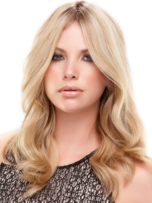 easiPart HH by easihair: Color 12FS8 Shaded Praline (Golden Brown/Warm Platinum Blonde/Platinum Blonde Blend, Shaded w/ Med Brown)