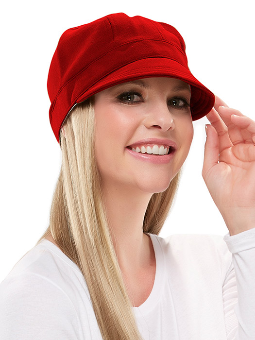 Fleece Cap by Jon Renau | Color Red