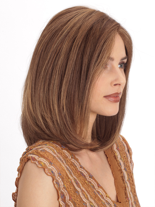 light brown medium length hair color marble brown frosted