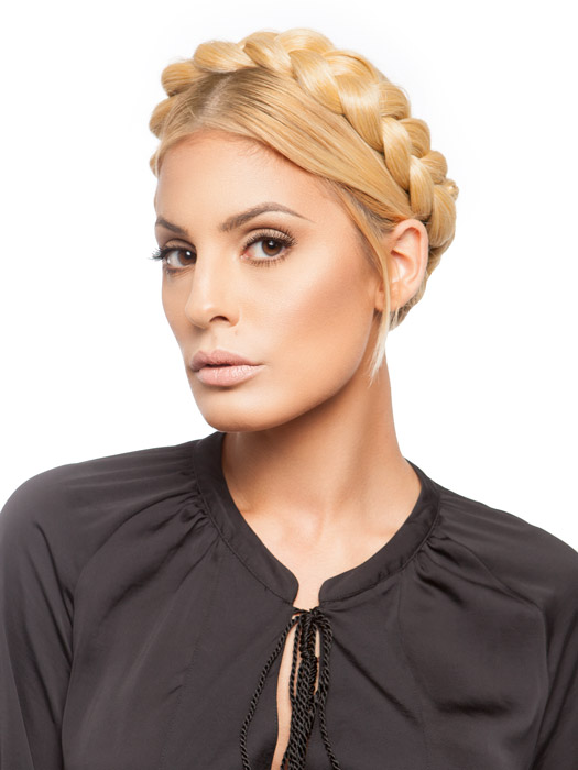 Wigs.com Exclusive | Place it around the head to create a trendy braided crown