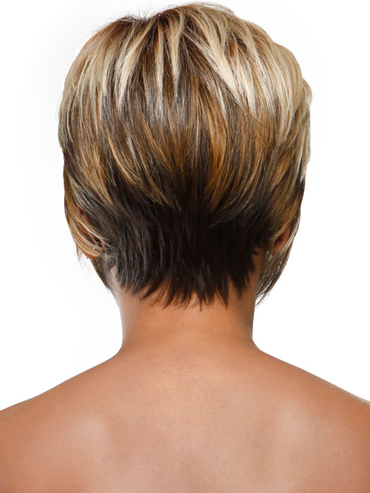 Show Short Stacked Wispy Bob Back View Short Hairstyle 2013