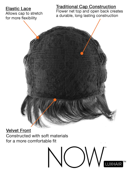 Cap Details - Angled Tomboy by LuxHair NOW