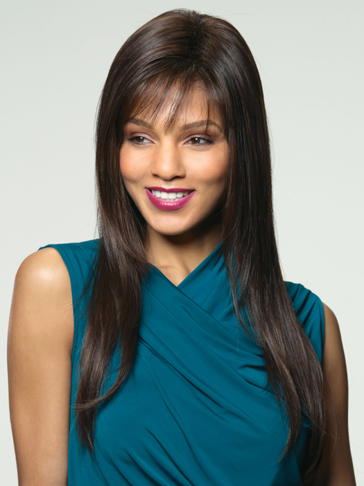 Wigs.com Exclusive photo | Noriko Robin | Color Caramel-Cream