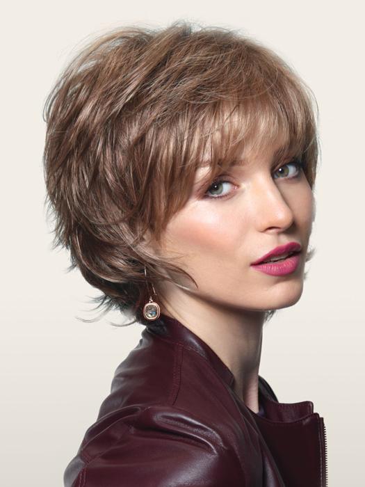 Wigs.com Exclusive photo | Noriko Sky | Color: Bronzed-Brown