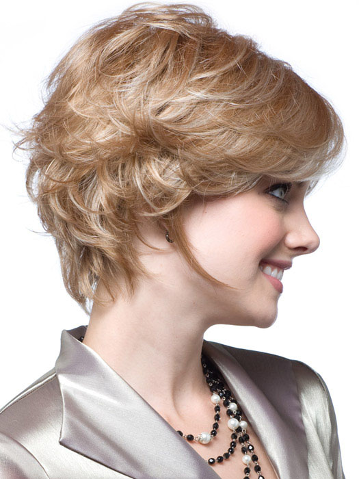 Brooke by Noriko Wigs : Profile View | Color Chai-Cream