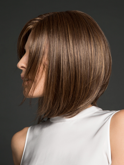 Soft synthetic fiber that feels just like your own hair.| Top Color:  Marble Brown Medium brown & light honey brown blend