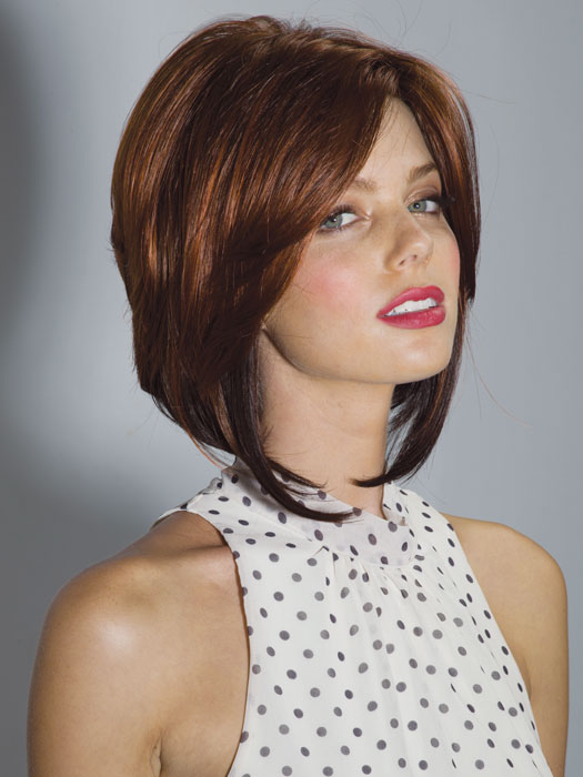 Bryn by Noriko: Short Bob Cut | Color Cayenne-Spice-R
