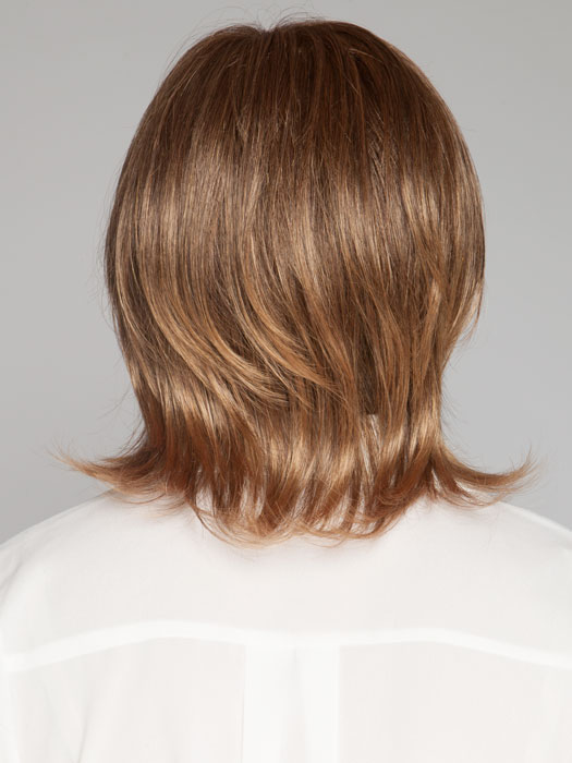 Layersgo from short to long in this salon inspired cut | Color: Marble Brown