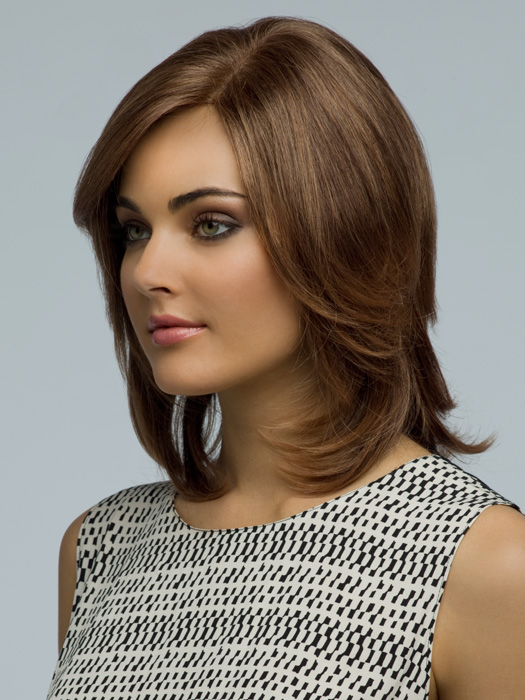 Amore Kendall | Double Monofilament Top | Color: Marble Brown