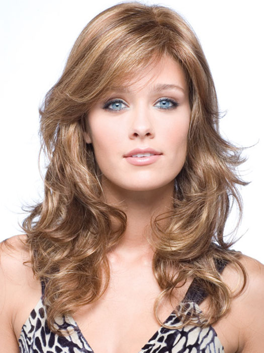 Brittany by Amore: Double Monofilament Top   Color Copper-Glaze