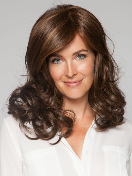 Loose curls are modern and always on trend | Color: Toasted Brown