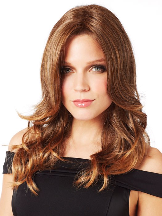 Bridgette Wig by Revlon: Color 10/16T (Hazelnut Mist)