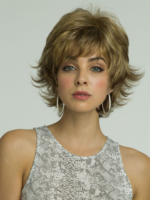 Revlon Wigs Adelle Wig : Capless and Lightweight - Color 10/140T (Pralines and Cream)
