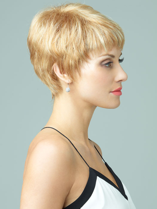 Cambria by Revlon Wigs : Side View | Color 234/23C (Vanilla Swirl)