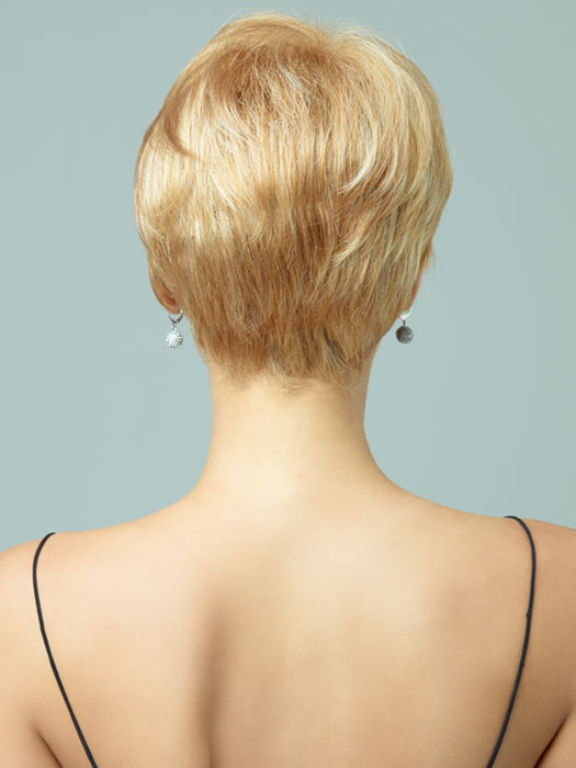 Revlon Wigs Cambria : Back View | Color 234/23C (Vanilla Swirl)