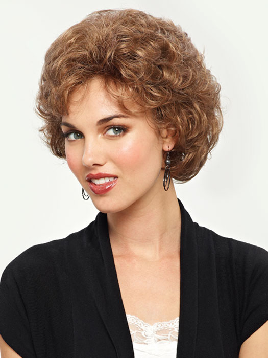 Revlon Wigs Hattie Wig : Capless Curly Wig | Color 12R (Pecan)