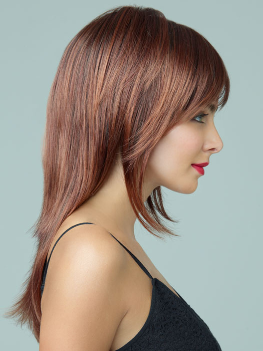 Revlon Wigs Serena : Razor Cut | Color 33/32C (Cherry Cola)