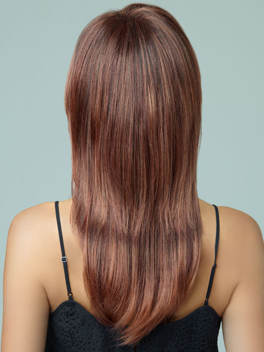 Revlon Wigs Serena : Long And Straight | Color 33/32C (Cherry Cola)