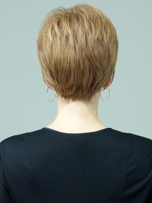 Pearl Wig by Revlon Wigs : Back View   Color: 12R (Pecan)