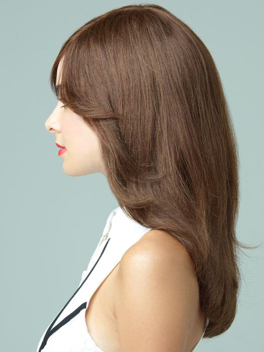 Revlon Wigs Lily : Profile View | Color BROWN-SPICE