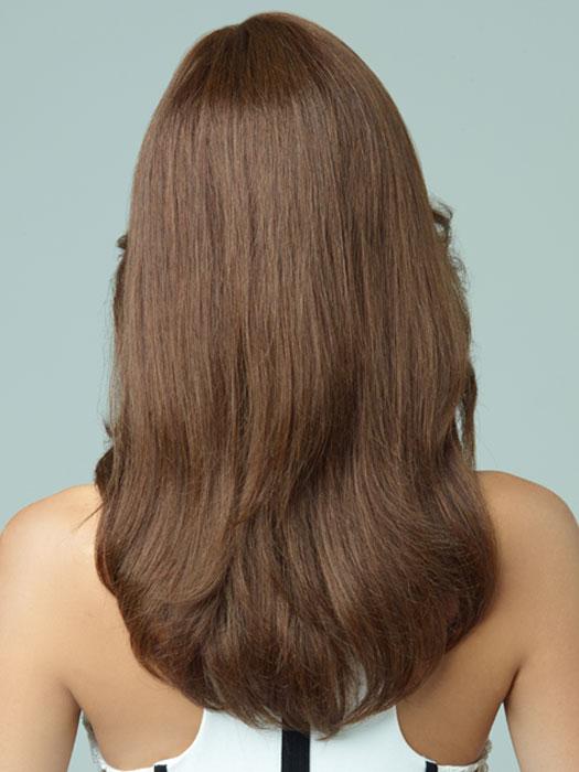 Revlon Wigs Lily : Back View | Color BROWN-SPICE