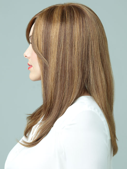 Lily by Revlon Wigs : Profile View | Color HONEY-BROWN