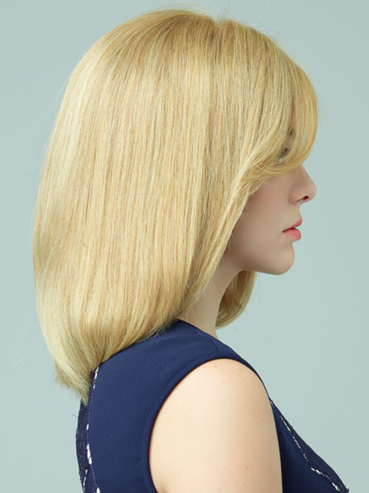 Revlon Wigs Sawyer: Bob Cut With A Side-Swept Fringe | Color GOLDEN-WHEAT